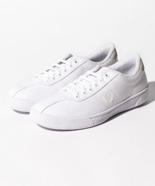 【FRED PERRY】FRED PERRY B1 FP TENNIS SHOE CANVAS B1 WHITE