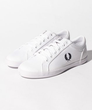 【FRED PERRY】FRED PERRY BASELINE CANVAS B3114 WHITE
