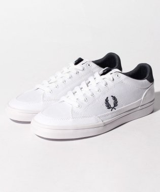 【FRED PERRY】FRED PERRY DEUCE CANVAS B4101 WHITE