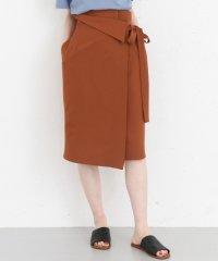 【KBF+】ウエストデザインリボンスカート