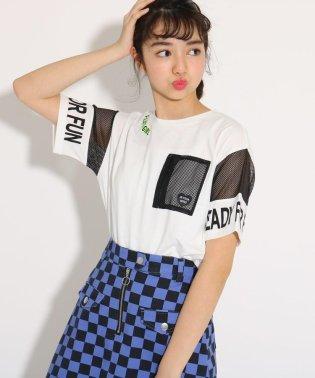 メッシュポケット Tシャツ