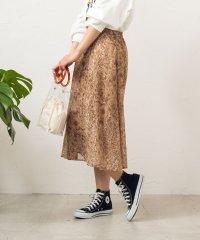 WEGO/シフォンパイソンスカート
