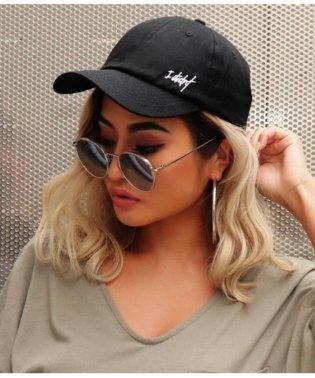 サイド刺繍CAP