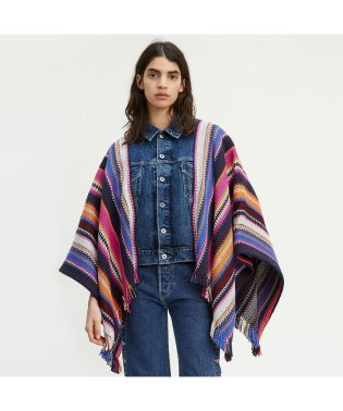 LEVI'S?MADE&CRAFTED? トラッカーポンチョ SUMMER BLANKET STRIPE MULTI