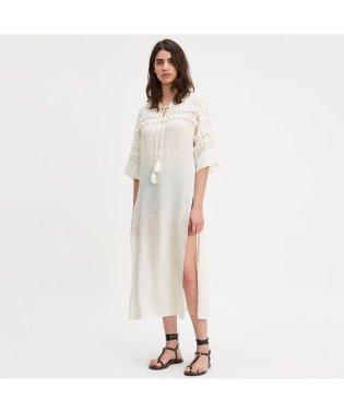 タッセルドレス BRIGHT WHITE