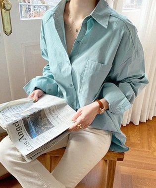 NANING9(ナンニング)オーバーフィットポケットシャツ