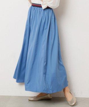 ウエストラインゴムギャザースカート
