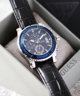 GUESS メンズ時計 ピナクル W0673G4