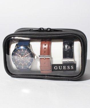 GUESS メンズ時計 ロンジテュード ボックスセット W0742G1