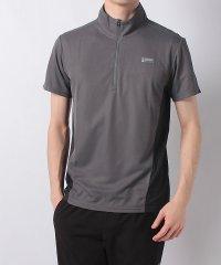 アルパインデザイン/メンズ/ハーフジップ半袖シャツ