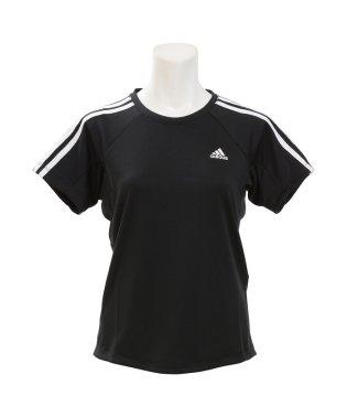 アディダス/レディス/W 定番3ストライプ半袖Tシャツ