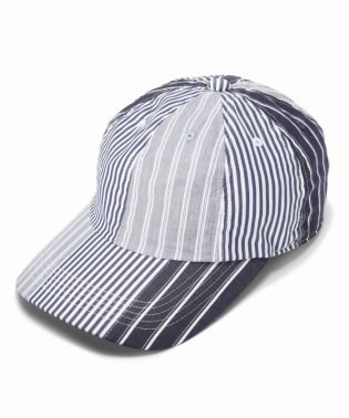 HICO×EDIFICE 別注 STRIPE 8PANEL CAP