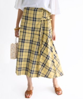 THE IRON ラップスカート◆