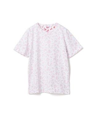 総柄裏プリントTシャツ