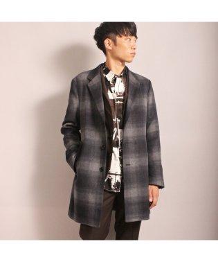 【smart12月号掲載/中川大志さん着用商品】スムースメルトンチェスターコート[3釦仕様]