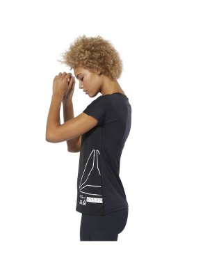 リーボック/レディス/ワンシリーズ ACTIVCHILL ショートスリーブグラフィック Tシャツ