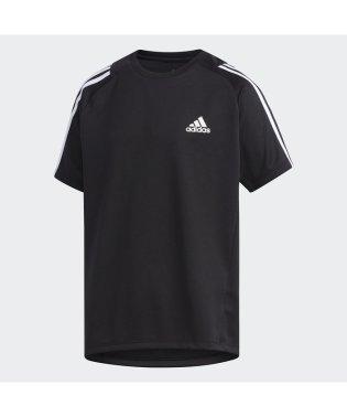 アディダス/キッズ/B TRN スリーストライプス Tシャツ