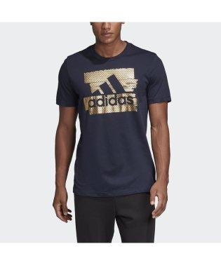 アディダス/メンズ/M MUSTHAVES フォイルグラフィックTシャツ