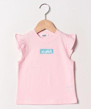 ボックスロゴフリルTシャツ