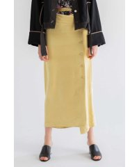 SATIN NARROW SKIRT