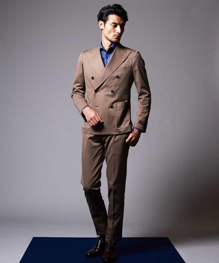 スーツ(LEOMASTERヘリンボーン)
