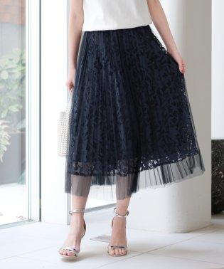 【美人百花6、7月号掲載】◆DVクーベルチュール スカート