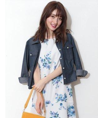 【美人百花5月号掲載】ビッグポケットシャツジャケット