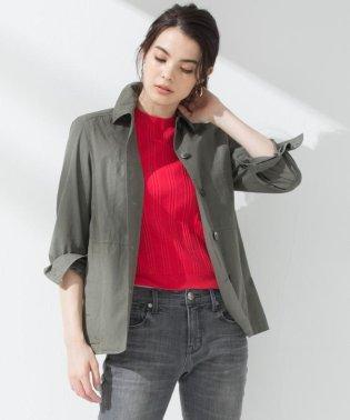 【マガジン掲載】CANCLINI 製品染めシャツジャケット(検索番号H35)