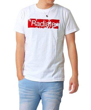 綿100%デザインロゴ半袖Tシャツ