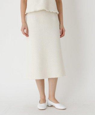 コットンリツイードIラインスカート