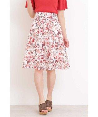 ◆フローラトロピカルギャザースカート