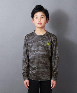 ダブルメッシュ・カモフラ長袖Tシャツ