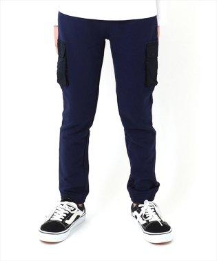 [ストレート]ポケットデザイン・スウェットパンツ