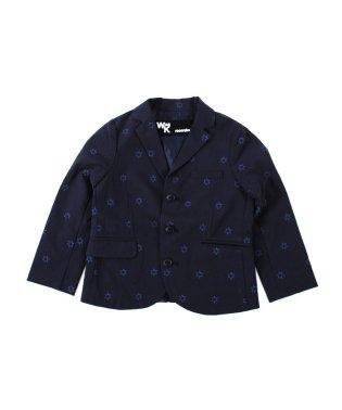 星刺繍テーラードジャケット(120cm)