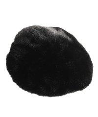 ミンク ファー 帽子 ハンチング ベレー帽