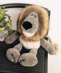 ふわふわお座り上手なライオン君 ぬいぐるみ インテリア