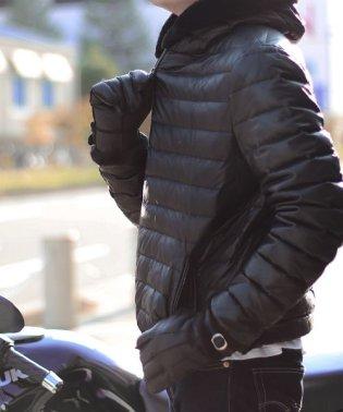 ムートンレザー メンズ 手袋 本革