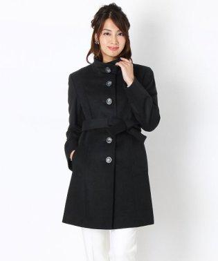 カシミヤ ステンカラー コート