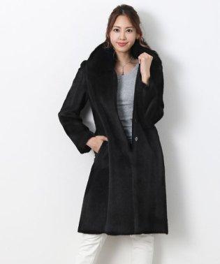 スーリー アルパカ コート フォックス 襟付き 日本製