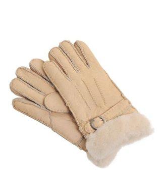 あったか ムートン レザー手袋