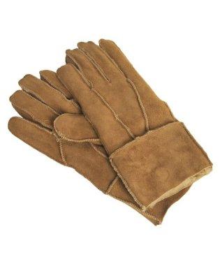 ムートン ダブルフェイス レザー手袋