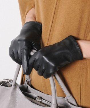 ラムレザー スマホ対応 手袋 レディース