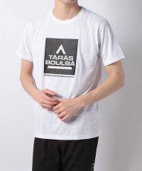 タラスブルバ/メンズ/スクウェアロゴTシャツ