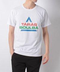 タラスブルバ/メンズ/カラフルロゴTシャツ