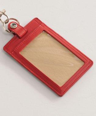 [Jamale] 日本製 牛革レザー ID パスケース 縦型 レディース メンズ