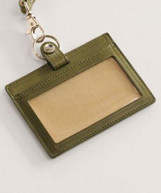 [Jamale] 日本製 レザー IDケース 横型 パスケース レディース メンズ