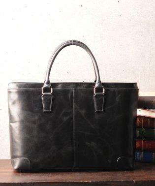 [Mia Borsa] 牛革レザー ビジネスバッグ メンズ 本革バッグ