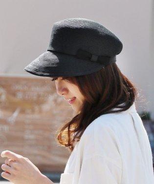 日本製 ペーパー キャスケット 帽子 レディース