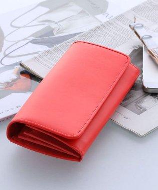 [HALEINE] 牛革レザー コンパクト財布 レディース