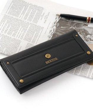 [GOLD PFEIL] バッファロー革 束入れ 長財布